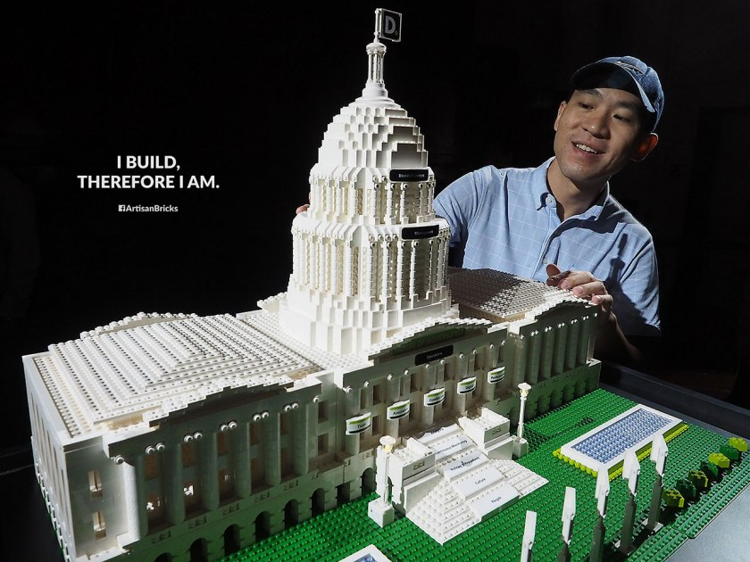Artisan Bricks by Jeffrey Kong - LEGO Deloitte House of Governance 2016 - Arts House Singapore - lo-res