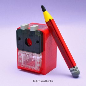 Artisan Bricks by Jeffrey Kong - LEGO Pencil Sharpener