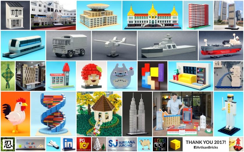 Artisan Bricks - Year in Review 2017